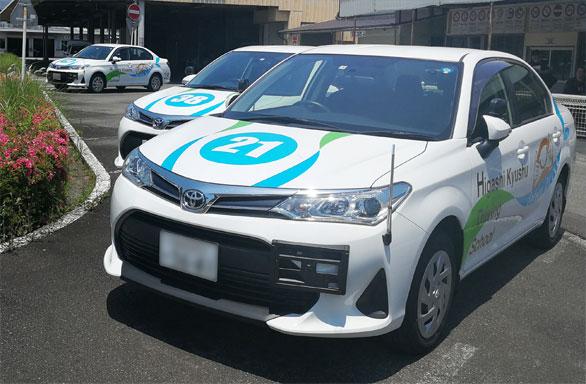 東九州自動車学校合教習車